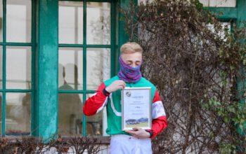 Gratulation an Miloš Bunjevac zum 1. Platz als erfolgreichster Nachwuchsreiter in der Saison 2020